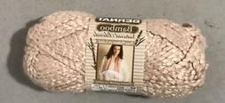 1 Skein Bernat Bamboo Natural Blends Bulky Yarn - Color Is W