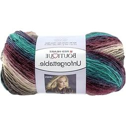 Red Heart Boutique Unforgettable Yarn, Teaberry
