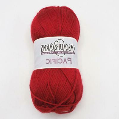 pacific yarn ruby red 43