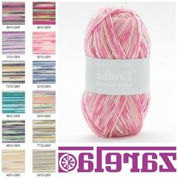 Sirdar Snuggly Baby Crofter 4 PLY ALL COLOURS