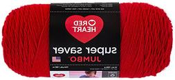 Red Heart Super Saver Jumbo Yarn, 14 oz, Available in Multip