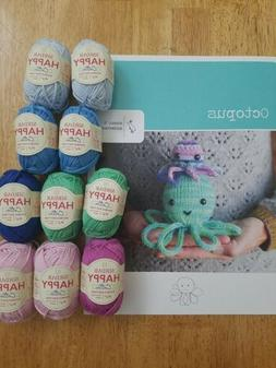 Susan B Anderson Octopus Pattern With 10 Balls Happy Cotton