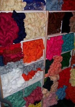 Vintage Aunt Lydia's Craft and Rug Yarn - Colors Adobe to Ye