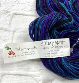 Cherry Tree Hill Yarn Supersock Self Stripes Traveling Vines